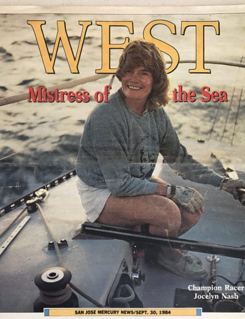 Jocelyn Nash featured on the West Magazine Cover