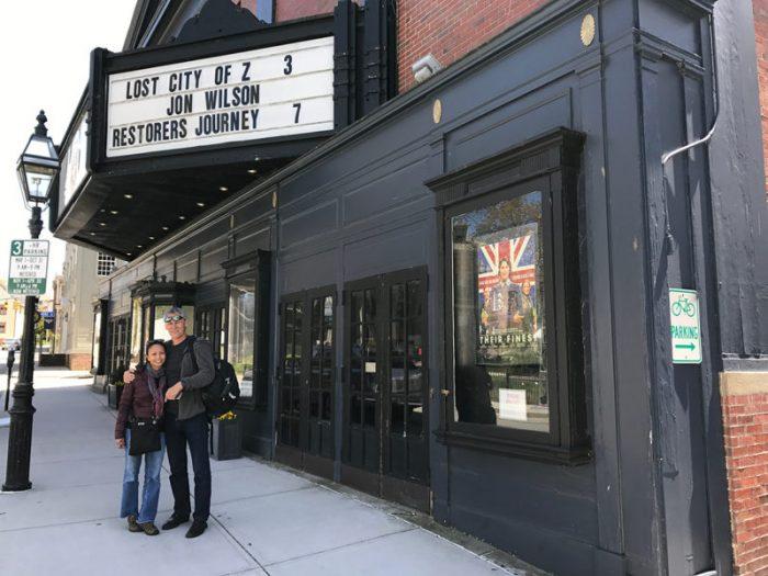 Film Screening at the Jane Pickens Theatre in Newport, CT