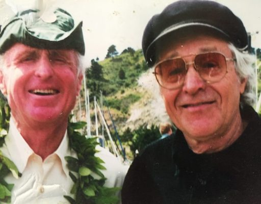 Commodore and old friend, Ramblin' Jack Elliott