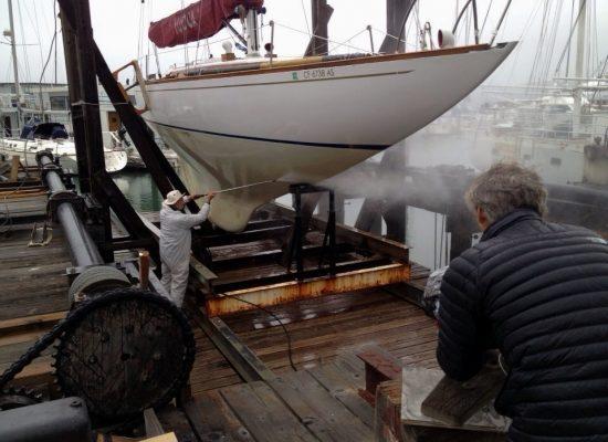 Hank Easom boat works