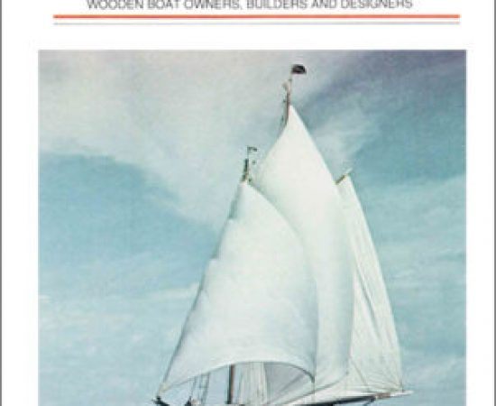 WoodenBoat magazine inaugural cover