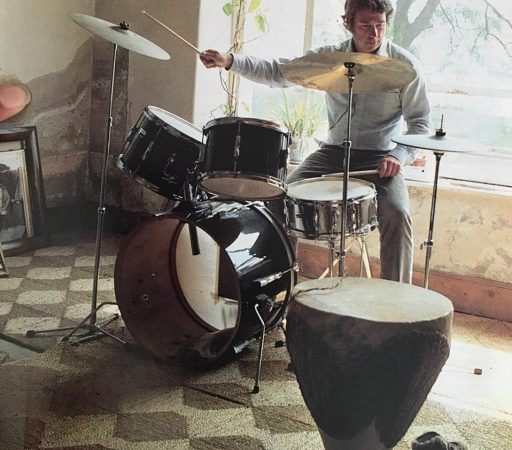"""Who knows? I could have been a rock n roll drummer!"" - Ron Holland"