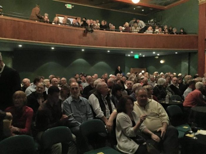 Hank Easom film premier was a sold out show!  photo: Richard Gelfand